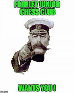 Frimley Junior Chess Club Wants You !
