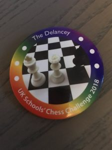 UK Chess Challenge Badge